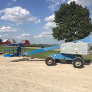 2006 GENIE S40 40' 4X4 DIESEL STRAIGHT BOOM MAN LIFT CHERRY PICKER