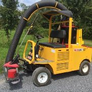 "MAD VAC 101D 48"" VACUUM LITTER COLLECTOR DIESEL LOW HOURS LOW COST SHIPPING"
