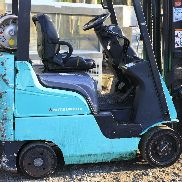 2006 Mitsubishi Cat FGC15N Forklift Only 2400 Hours
