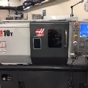 Used 2014 Haas ST-10 Y Live Tool CNC Turning Center Lathe Y Axis Rigid Tap Chuck