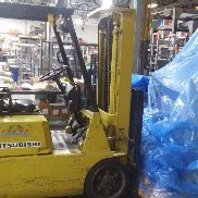 Mitsubishi FGC20, Forklift, 4,000 lbs. Cap. Propane Powered