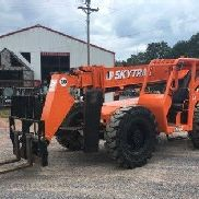 2007 SkyTrak 10054 Cummins DSL Solid BOSS Tires Side-Tilt Fork Carriage