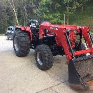 Mahindra 4025 Tractor MFWD with Loader Bucket