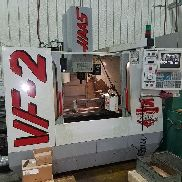 Used HAAS VF-2 CNC Vertical Machining Center Mill CT40 30x16 4th Ready QC 1997
