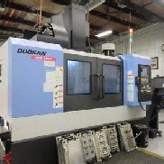 Doosan DNM-500-II CNC Vertical Machining Center LOW HOURS!!
