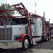 ECHTE Peterbilt 379 COTTRELL 7509 9 CAR TRAILER