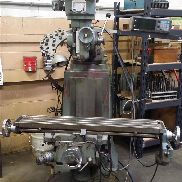 Used Ex-Cell-O 602 Manual Knee Mill 9x42 table Sonny DRO 1 1/2 HP