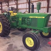 John Deere 4020 Diesel Row-Crop-Traktor Voll LOW HOURS Restored