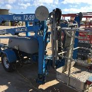 2011 Genie TZ-50 Towable Man Lift Drive & Set 2WD (Fahrantrieb Assist)