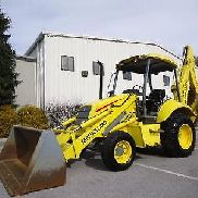 NEW HOLLAND LB75 LOADER BACKHOE , WORK READY