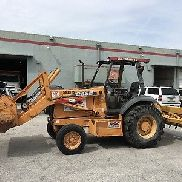 CASE 570MXT SKIP LOADER LANDSCAPE WHEEL LOADER BOX BLADE RIPPER