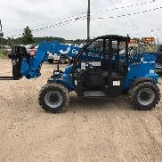 2017 Genie GTH-5519 Telescopic Forklift Full Factory Warranty Included