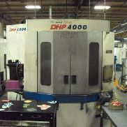 Used Doosan DHP 4000 400mm CNC Horizontal Machining Center Daewoo Fanuc 2006
