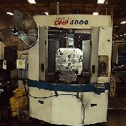 Used Doosan DHP 4000 400mm CNC Horizontal Machining Center Daewoo Fanuc 2005