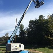 GENIE S-45 45 '4x4 DIESEL ROUGH TERRAIN BOOM UOMO LIFT CHERRY PICKER W / JIB