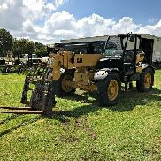 2006 CAT TH360B CAT DSL Pneumatic Tires Crab-Steering Fork Carriage