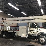 2006 International 7300 Lift All LM-70-2MS Aerial Unit 4x4
