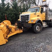 2003 Sterling Single Axle Dump L8500 with Snow Plow CAT C12 435 HP Manual 8 SPD