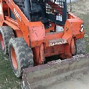 daewoo skidloader in construction equipment
