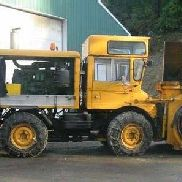 1976 Mercedes Unimog 406 with Schmidt Snowblower
