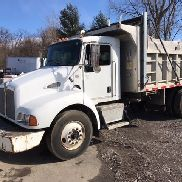 2006 T300 Kenworth Single Axle Dump Truck 13 ft. Aluminum Body Low Miles