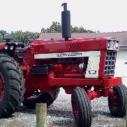 1973 international farmall 1066 traktor
