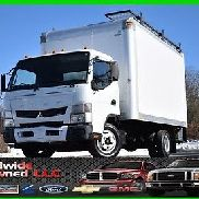 2012 Mitsubishi Fuso Fe125 Tilt Cab Over Box Truck 3.0L Diesel Automatic Used