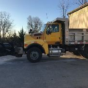 2004 Sterling Single Axle Dump L8500 with Snow Plow & Salt Spreader CAT L6 Auto
