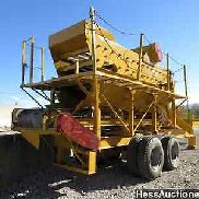 Pettibone screen system - vibratory 3 deck - soil, stone, material screening