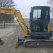 2014 Kobelco SK35 SR Mini Excavator A/C Cab; Case CX36 New Holland EC35 9200 lbs