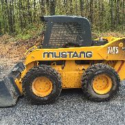 Mustang 2105 Skid Steer with bucket - 110 HP machine enclosed cab & heat-2 Speed