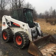 BOBCAT S220 Radladers Enclosed Cab W / HEAT CHEAP SHIPPING