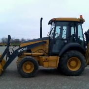 2010 JOHN DEERE 310SJ 4X4 EXT.HOE 3470 STUNDEN LOADED