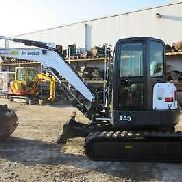 2011 Bobcat E45 with Cab AC and Heat E-Z Nationwide Financing