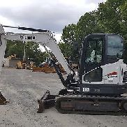 2014 Bobcat E63 Midi Excavator Cab with A/C 902 hrs; 14K lbs; NICE CLEAN in TN
