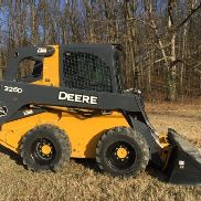 2012 JOHN DEERE 326D Radladers SKIDLOADER Enclosed cab CHEAP SHIPPING