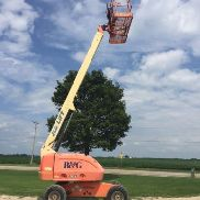 2007 JLG 400S 40' 4X4 DIESEL STRAIGHT BOOM MAN LIFT CHERRY PICKER CAT ENGINE