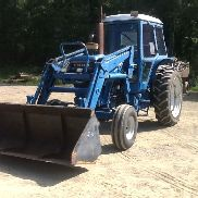 Ford 7710 Farm Tractor W/Loader and Cab and Air..Good Tires and good machine