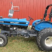 VERY NICE 1998 FORD NEW HOLLAND 3430 DIESEL UTILITY Traktor 46 PS P / S
