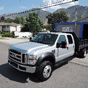 2008 Ford F-550 XLT 6.4L Dump Bed
