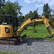 2012 CATERPILLAR 303.5 E MINI EXCAVATOR ENCLOSED CAT LOW COST VERSAND PREISE