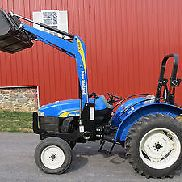 TRES BELLE NEW HOLLAND TT45A TRACTEUR UTILITAIRE W / 217 HEURES DIESEL LOADER 40hp