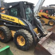 2006 NEW HOLLAND L180 SKID STEER LADER ENCLOSED WÄRME UND AC GREAT PFLUG SCHNEE