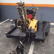 2011 VERMEER RTX100 WALK BEHIND TRENCHER & 2012 TRAILER TLR30