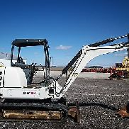 2006 Terex HR18 excavator, OROPS, Dual Auxiliary Hyd, Rubber tracks, 3,594 hours