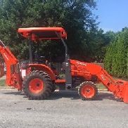 2016 Kubota B26 Backhoe Loader 4x4 Diesel Tractor Only 54 Hours!