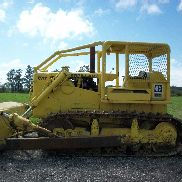 1968 Caterpillar D7E Crawler/Dozer, OROPS w/ Sweeps, SU blade w/ Tilt, RUNS GOOD
