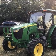 2016 John Deere 5100E Tractor with loader (np). Only has 600 hrs. No problems.