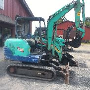 MINI EXCAVATOR IHI 28N 2725HRS NEW BUCKET , NEW PINS , BUSHINGS AND LINKS