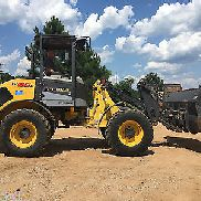 2013 New Holland W80B TC Compact Wheel Loader Diesel Rubber Tire Tractor Loader